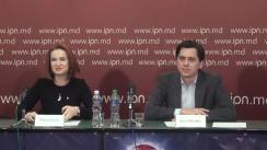 """Conferință de presă organizată de Centrul Analitic Independent Expert-Grup cu tema """"Cheltuielile bugetare pentru Poliție: cât și cum"""""""