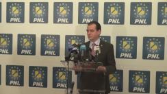 Conferința susținută Președintele PNL, Ludovic Orban