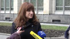 Înregistrarea la Guvern a unei declarații semnată de un grup de mame, care au avut de suferit în urma interacțiunii cu sistemul medical din Republica Moldova în domeniul prenatal