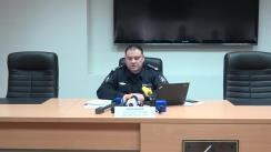Briefing organizat de Inspectoratul General al Poliției cu privire la un caz tragic care a avut loc în dimineața zilei de astăzi, în raionul Sîngerei, satul Nicolaevca, unde un vînător a decedat