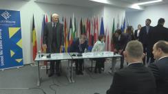 Conferința de presă pentru lansarea Președinției bulgare a Consiliului UE