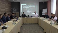 """Prezentarea studiului de politici publice """"Modernizarea și eficientizarea sistemului de transport din Chișinău prin implementarea transportului alternativ"""""""