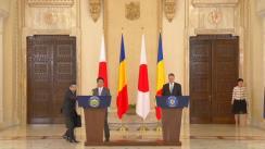 Declarație de presă susținută de Președintele României, Klaus Iohannis, și Prim-ministrul Japoniei, Shinzo Abe