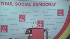 Conferință de presă după ședința Comitetului Executiv Național al PSD din 16 ianuarie 2018