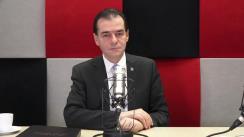 Ludovic Orban, președintele Partidului Național Liberal, la Interviurile Europa FM