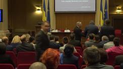 """Conferința cursdeguvernare.ro cu tema """"Fondurile europene, absorbția și impulsul necesar. Cum conectăm România, în anul centenar?"""""""