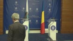 Declarații de presă susținute de Ministrul Afacerilor Externe al României, Teodor Meleșcanu, și Ministrul Afacerilor Externe, Politice și Justiție al Republicii San Marino, Nicola Renzi