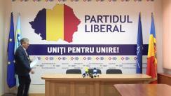 Conferință de presă susținută de președintele Partidului Liberal, Mihai Ghimpu