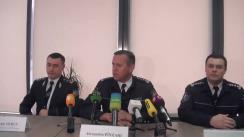 Conferință de presă organizată de Inspectoratul General al Poliției cu ocazia prezentării Conceptului de poliție comunitară