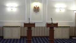 Declarații de presă susținute de Președintele Republicii Moldova, Igor Dodon, și Președintele Organizației Internaționale pentru Familie, Brian Brown