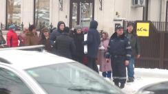 Flashmob-ul Partidului ȘOR la sediul Partidului AS!
