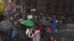 """Protestul """"România spune nu corupției. Toți pentru justiție"""""""