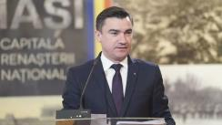 Conferință de presă susținută de Primarul Municipiului Iași, Mihai Chirică
