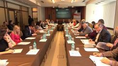 """Masa rotundă organizată de Centrul Analitic Independent Expert-Grup cu tema """"Eficiența și transparența sistemului de sănătate din Republica Moldova"""""""