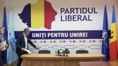 """Conferință de presă susținută de conducerea Partidului Liberal cu tema """"Depunerea unei sesizări la Curtea Constituțională"""""""