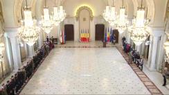 """Ceremonia de decorare a delegației României care a participat la competiția sportivă """"Invictus Games Toronto 2017"""""""