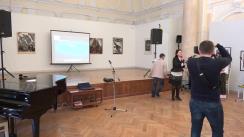 Lansarea proiectelor culturale dedicate celor 10 ani de la înfrățirea orașelor Iași și Chișinău