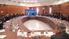 Reuniunea Ministrului Afacerilor Externe și Integrării Europene, Tudor Ulianovschi, cu Șefii Misiunilor Diplomatice și Organizațiilor Internaționale cu reședința la Chișinău