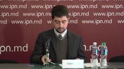 """Conferință de presă organizată de Asociația Comunitatea """"WatchDog.MD"""" cu tema """"Analiza legislației curente și propuneri pentru fortificarea independenței și imparțialității Comisiei Electorale Centrale"""""""