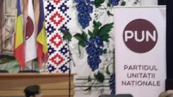 Președintele de onoare al Partidului Unității Naționale, Traian Băsescu, participă la o întâlnire cu cetățenii din raionul Nisporeni