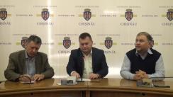 Conferință de presă susținută de fracțiunea PL din Consiliul Municipal Chișinău