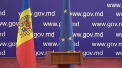 Conferință de presă susținută de viceprim-ministrul pentru Integrare Europeană, Iurie Leancă, cu privire la rezultatele vizitei sale de lucru la Bruxelles