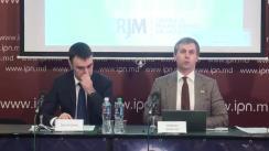 """Conferință de presă organizată de Centrul de Resurse Juridice din Moldova cu tema """"Republica Moldova la Curtea Europeană a Drepturilor Omului în anul 2017"""""""