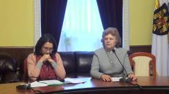 """Briefing susținut de consilierii municipali PSRM cu tema """"Achitarea compensațiilor pentru agentul termic și problemele din domeniul Ocrotirii sănătății"""""""