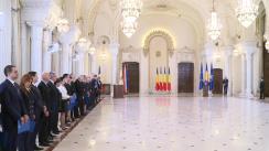 Ceremonia de depunere a jurământului de învestitură a membrilor Guvernului României condus de Vasilica-Viorica Dăncilă