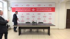 """Conferință de presă susținută de consilierii municipali PSRM cu tema """"Programul municipal: Locuințe accesibile"""""""
