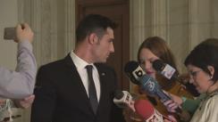 Declarații susținute de Iulian Claudiu Manda, Președintele comisiei comune de control al Serviciului Român de Informație