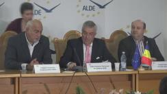 Declarații de presă susținute de președintele ALDE, Călin Popescu-Tăriceanu, după ședința Delegației Permanente a Alianței Liberalilor și Democraților