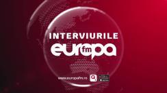 Președintele  Uniunii Democrate a Maghiarilor din România, Kelemen Hunor, la Interviurile Europa FM