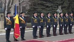 Ceremonia oficială de întâmpinare a Ministrului Apărării Naționale al României, Mihai Fifor