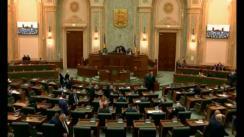 Ședința în plen a Senatului României din 5 februarie 2018