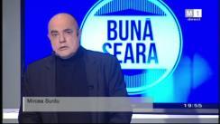 "Emisiunea ""Bună seara"". Invitat - Andrian Candu. Retransmisiune Moldova1"