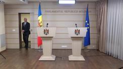 Briefing susținut de Pavel Filip și Andrian Candu după ședința comună a Guvernului și a Parlamentului Republicii Moldova