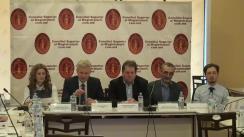 Conferința de prezentare a rezultatelor Sondajului de opinie publică cu privire la sistemul judecătoresc
