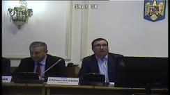 Ședința comisiei pentru agricultură, silvicultură, industrie alimentară și servicii specifice din Camera Deputaților a României din 7 februarie 2018