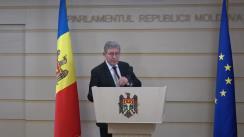 Declarațiile lui Mihai Ghimpu în timpul ședinței Parlamentului Republicii Moldova din 8 februarie 2018