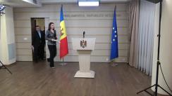 Declarația fracțiunii Partidului Liberal în timpul ședinței Parlamentului Republicii Moldova din 8 februarie 2018