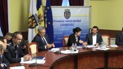Ședința săptămânală a serviciilor primăriei Chișinău din 12 februarie 2018