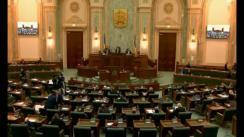 Ședința in plen a Senatului României din 12 februarie 2018
