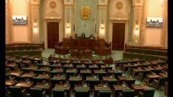 Ședința in plen a Senatului României din 14 februarie 2018