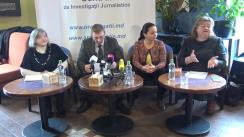 """Ședința Clubului Jurnaliștilor de Investigație cu tema """"Sancțiunile în dosarele de corupție și aplicarea confiscării extinse. Cazul Republicii Moldova și experiența României"""""""