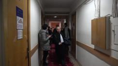 Ședința de judecată a dosarului lui Dorin Chirtoacă din 14 februarie 2018