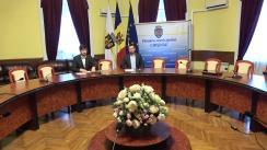 """Conferință de presă cu tema """"Lansarea proiectului privind Bugetul civil în municipiul Chișinău în anul 2018"""""""