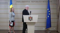 Declarațiile lui Vladimir Voronin în timpul ședinței Parlamentului Republicii Moldova din 15 februarie 2018