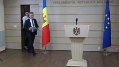 Declarațiile lui Tudor Deliu în timpul ședinței Parlamentului Republicii Moldova din 15 februarie 2018