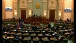 Ședința in plen a Senatului României din 19 februarie 2018